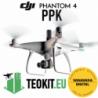 TEOKIT- DJI PHANTOM 4 - ADAPTER PPK L1/L2